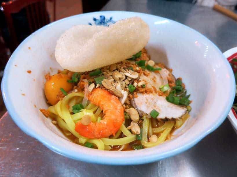 Mi Quang food in Hoi An by Authentic Food Quest