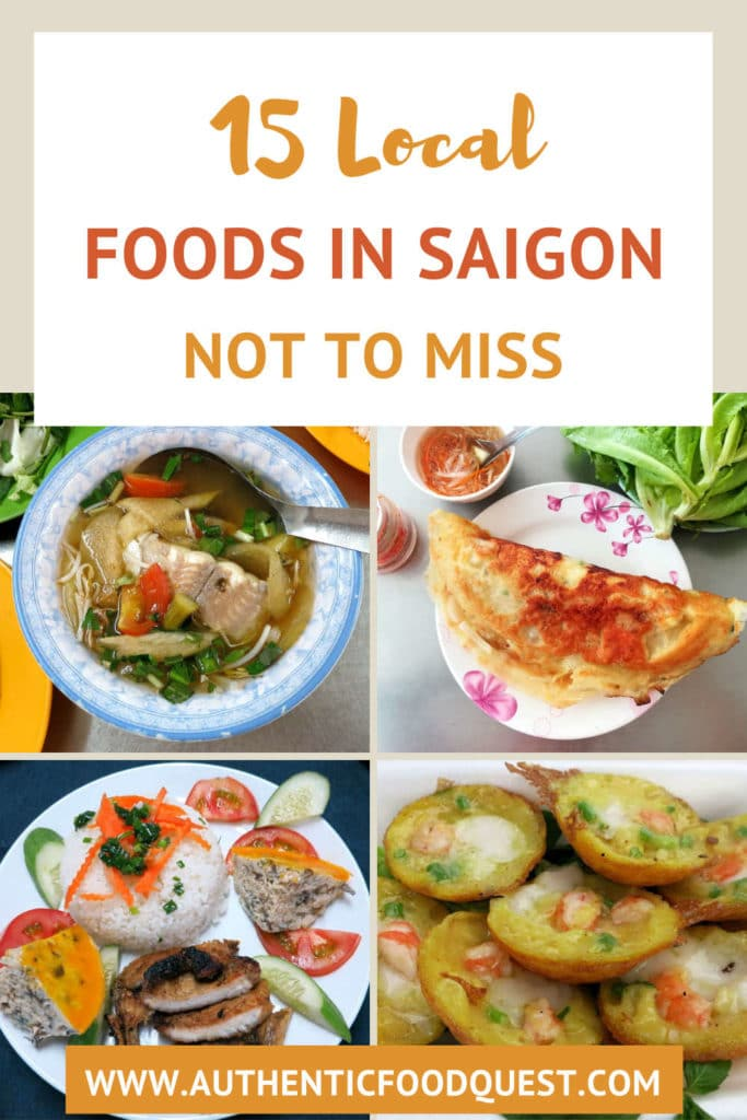 Pinterest Food in Saigon Authentic Food Quest