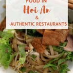 Guide to Hoi An restaurants and what to eat Vietnam by AuthenticFoodQuest