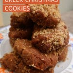 Traditional Melomakarona Recipe Greek Christmas Cookies by Authentic Food Quest