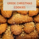 The Melomakarona Recipe Greek Christmas Cookies by Authentic Food Quest