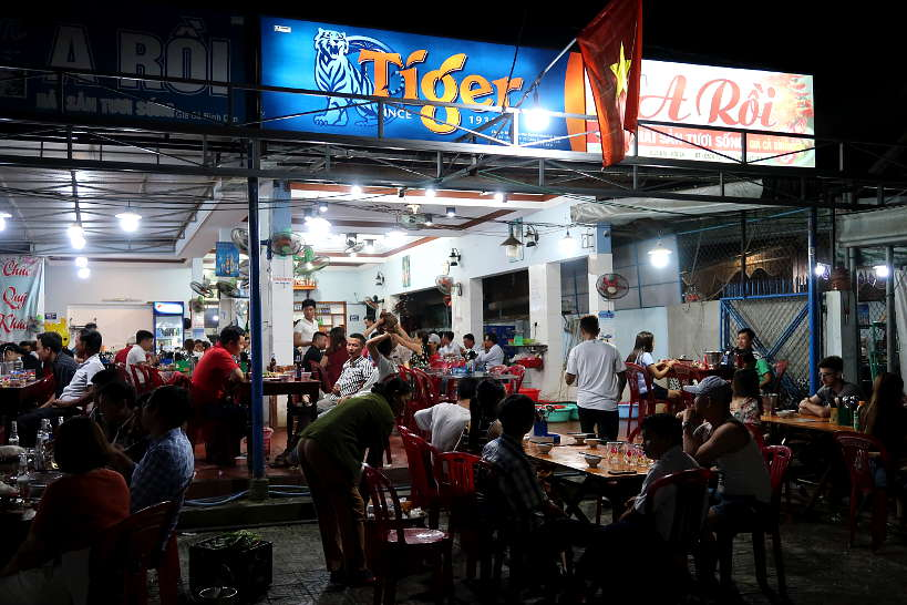 Quan Hai San A Roi Seafood restaurant in Hoi An by Authentic Food Quest