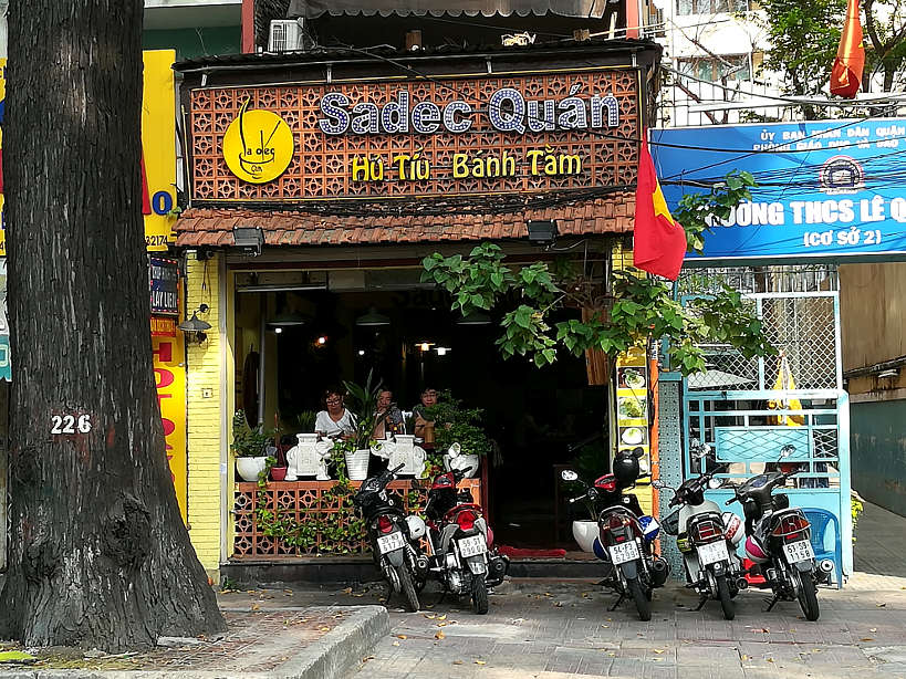 Sadec Quan one of the best Restaurants in Saigon by AuthenticFoodQuest