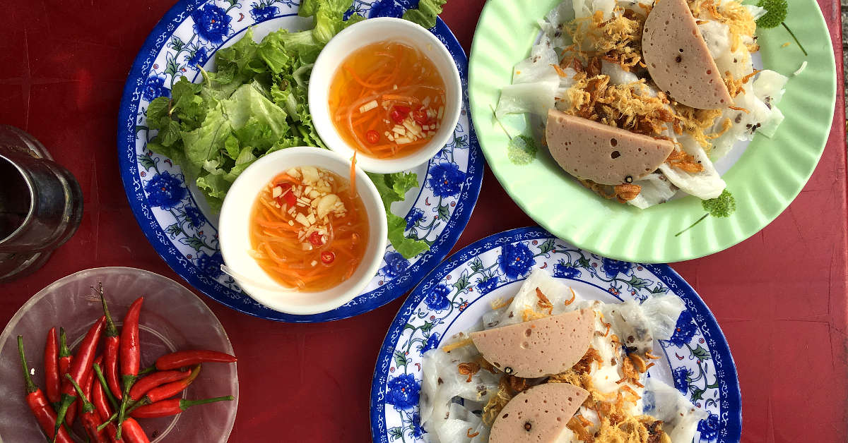 Vietnamese Sauces With Banh Cuon by AuthenticFoodQuest