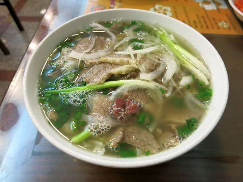 Beef pho Soup Hanoi by Authentic Food Quest