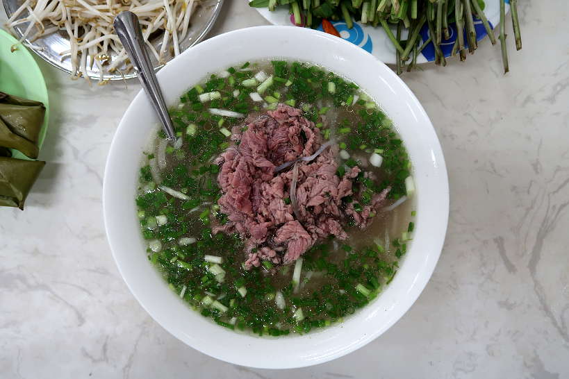 Beef Pho in Vietnam Pho Restaurant Pasteur in Saigon by AuthenticFoodQuest