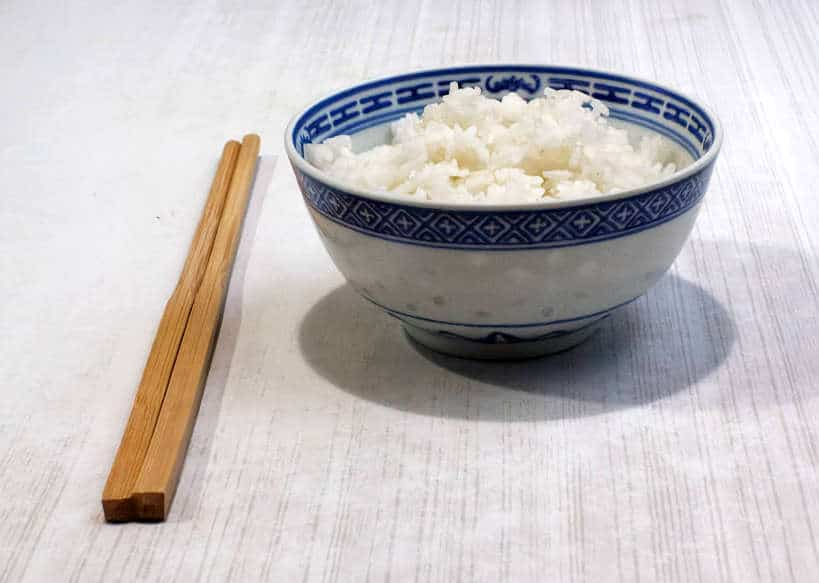 Bowl of cooked broken rice by Authentic Food Quest
