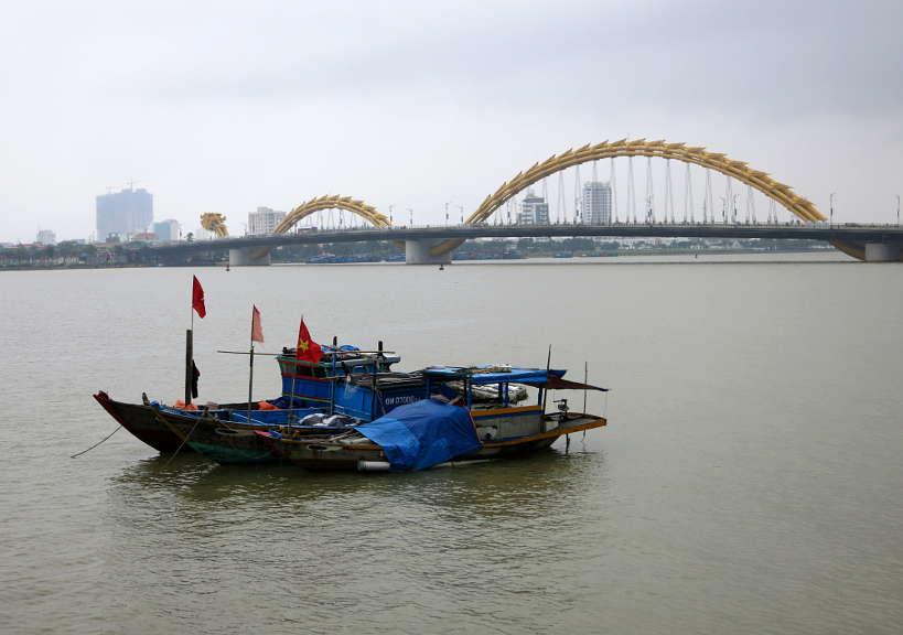 Danang River Vietnam Authentic Food Quest