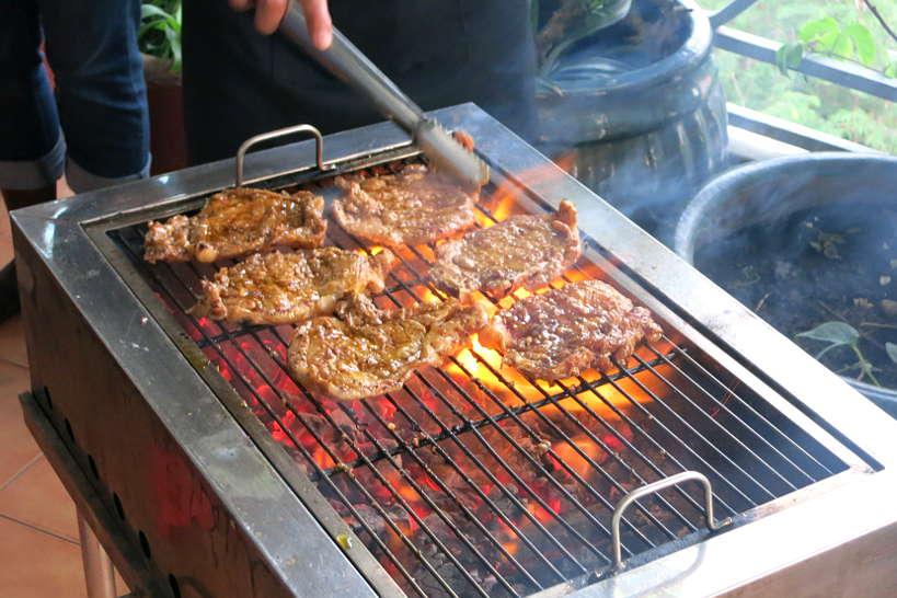 Grilled pork chop Vietnamese Broken Rice Recipe Authentic Food Quest