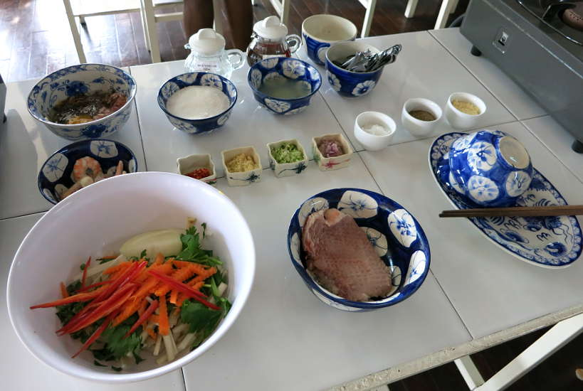 Ingredients Vietnamese Broken Rice Com Tam by Authentic food Quest