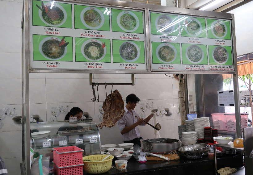 Restaurant Pho Pasteur in Saigon Vietnam by AuthenticFoodQuest