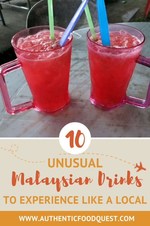 Bandung Juice Malaysian Drinks by AuthenticFoodQuest
