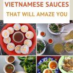 Various Vietnamese sauces by authentic food quest