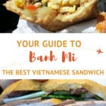 Vietnamese Sandwich Banh Mi by AuthenticFoodQuest