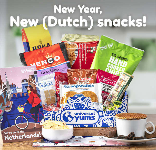 Universal Yums_Netherlands Box January 2021 by Authentic Food Quest