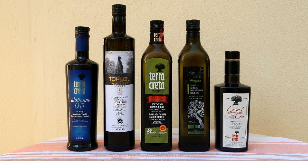 1200 Cretan Olive Oil by Authentic Food Quest