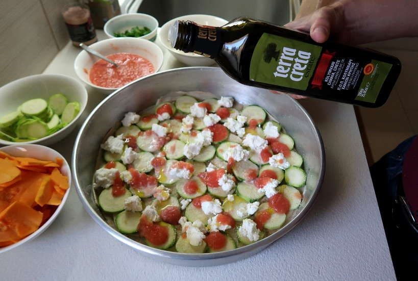 Baking with oilve oil in Crete by Authentic Food Quest