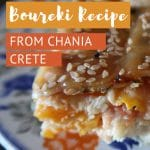 Chania Boureki by AuthenticFoodQuest