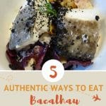 Bacalhau dish in Portugal by AuthenticFoodQuest