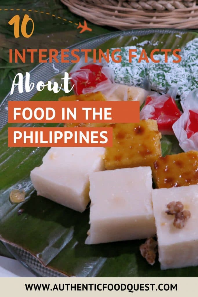 Sweet food in the Philippines by AuthenticFoodQuest