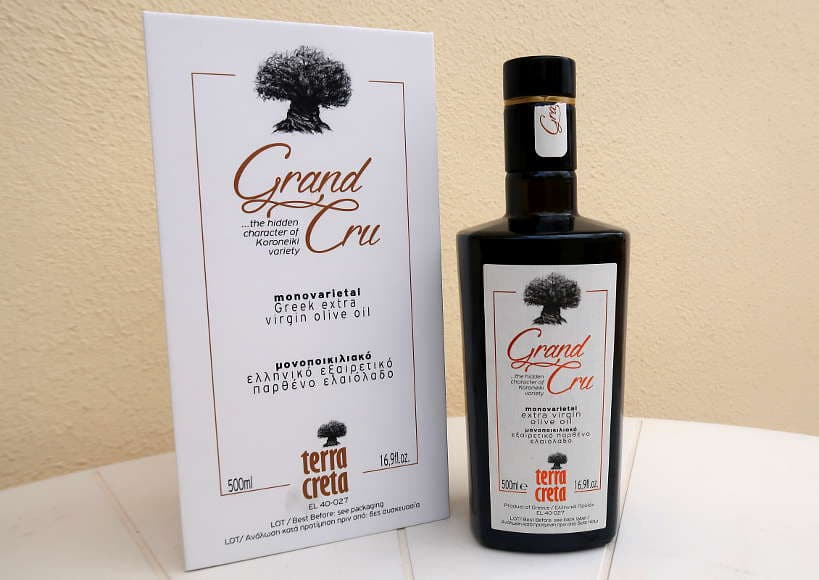 Terra Creta Grand Cru Best Cretan Olive Oil by AuthenticFoodQuest