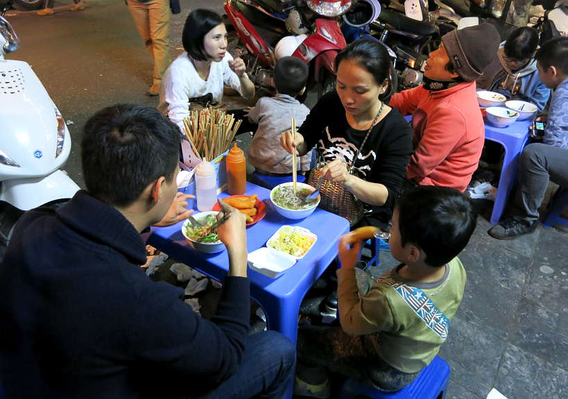 Vietnamese street food Hanoi Vietnam by Authentic Food Quest