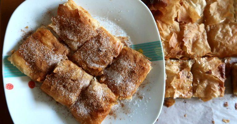 Bougatsa Recipe – How To Make Chania-Style Bougatsa from Crete