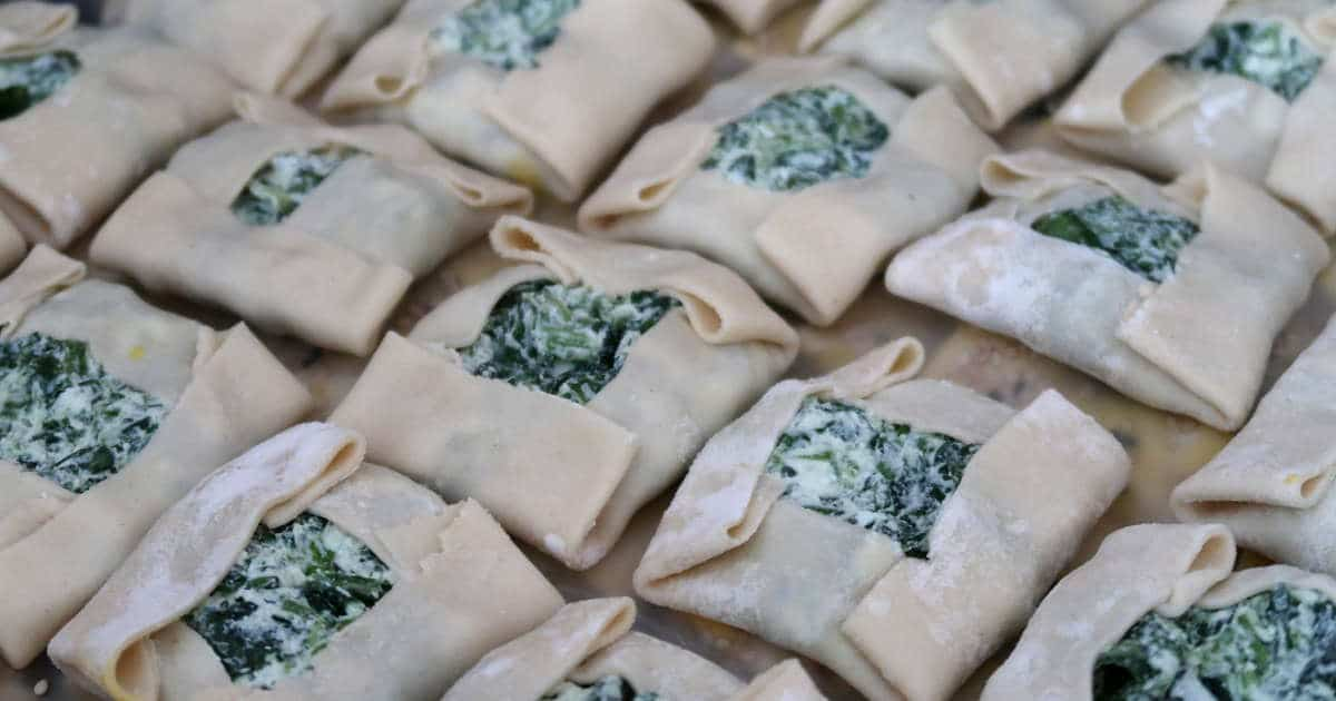 1200 make phyllo dough from scratch for Kalitsounia by Authentic Food Quest