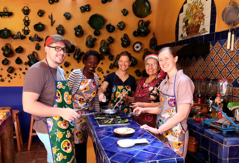 Cooking class with cookly for gifts for food travelers Authentic Food Quest