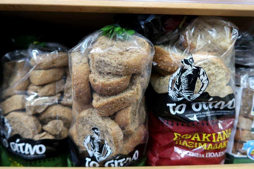 Cretan barley rusk for dakos salad by Authentic Food Quest