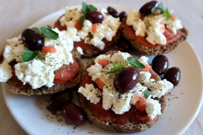 Cretan Dakos by Authentic Food Quest