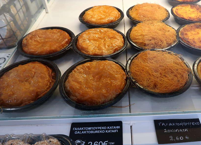 Galaktoboureko Chania Crete by Authentic Food Quest