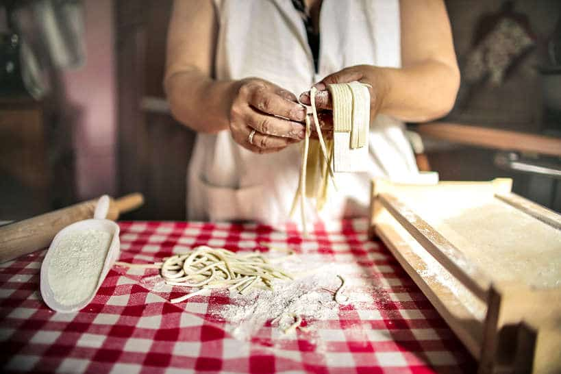 Italian cooking vacations making pasta gift for food travel lovers by Authentic Food quest