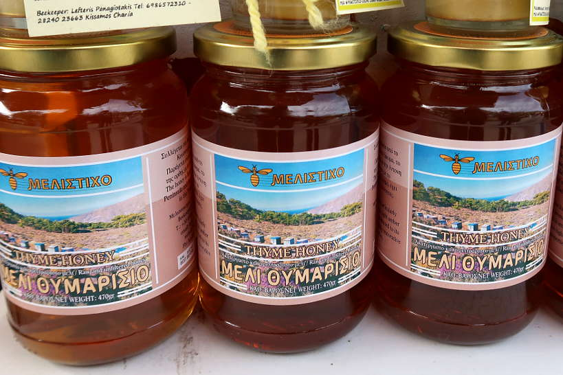 Melistixo Kritis Thyme Honey From Crete by Authentic Food Quest