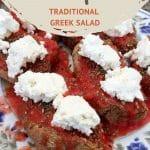 Cretan Dakos Salad by AuthenticFoodQuest
