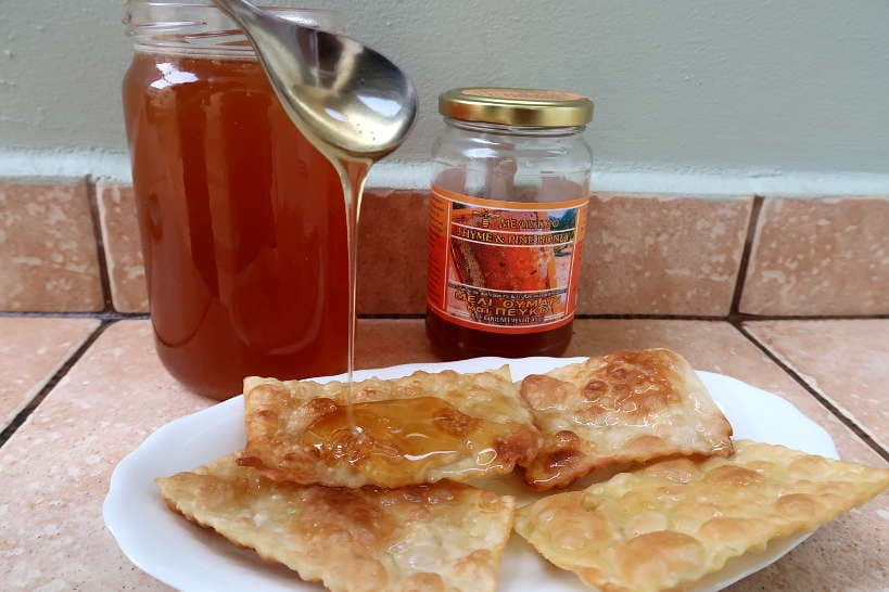 The taste of Thyme Honey from Crete by Authentic Food Quest