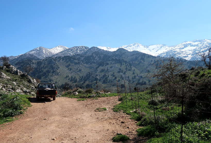The White Mountains in Crete, Greece by Authentic Food Quest