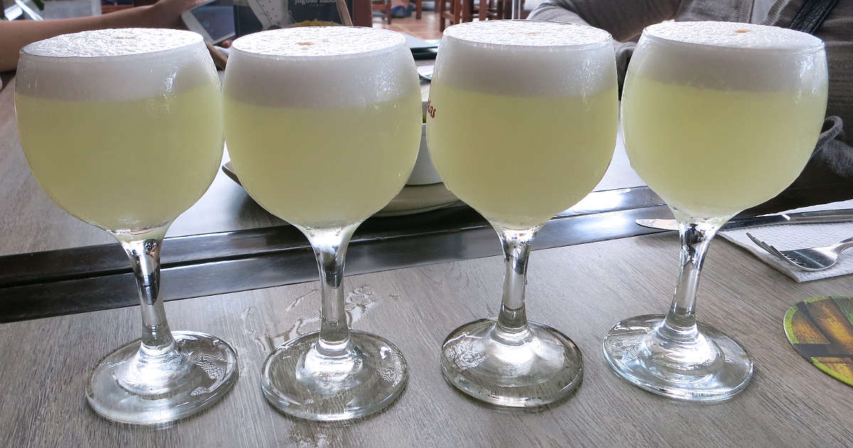 Pisco Sours in Lima by AuthenticFoodQuest