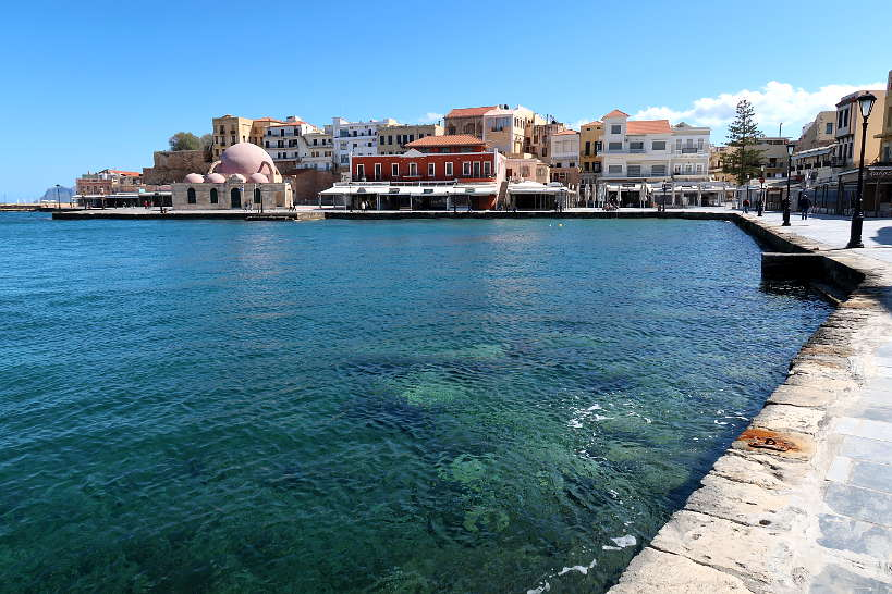 Chania Old Town by the port by Authentic Food Quest