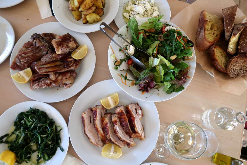 Cretan Meal at Antikristo One of the best Chania restaurants in Crete by AuthenticFoodQuest