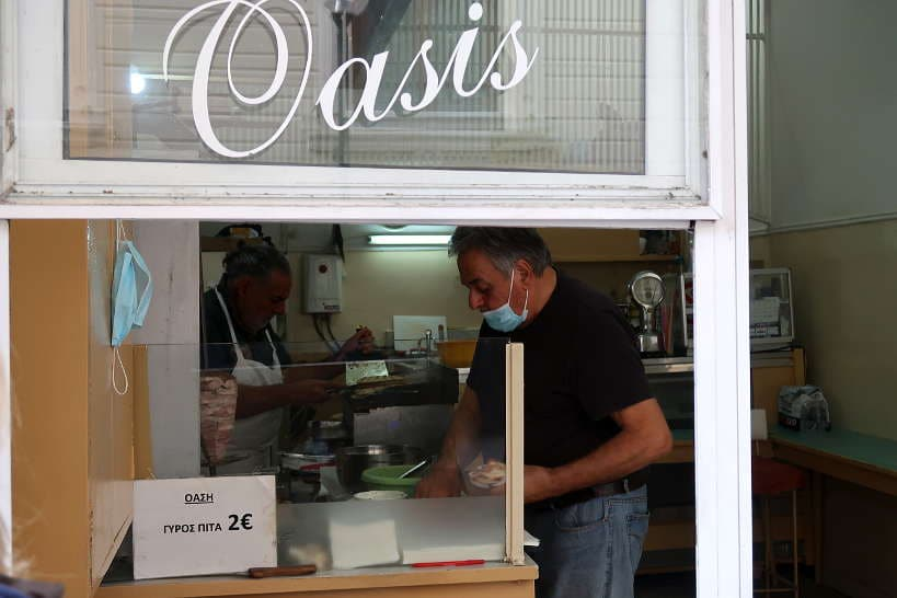 Oasis_Fast food joint in Chania Crete by AuthenticFoodQuest