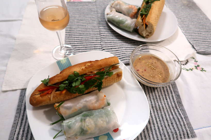 Our Vietnamese Meal and cooking class by Authentic Food Quest
