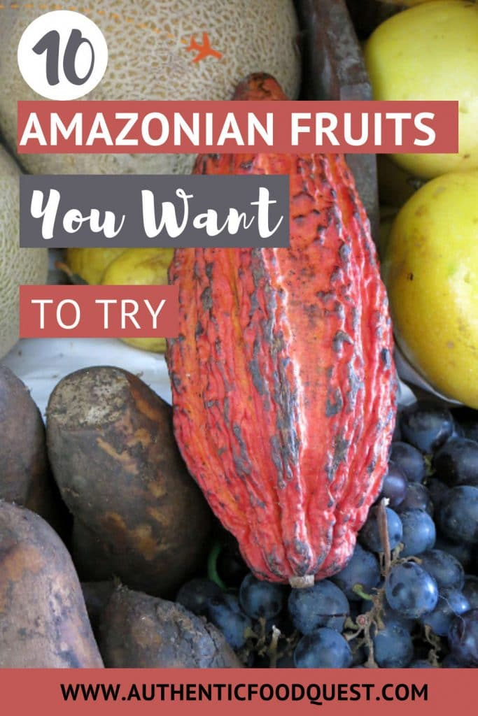 Pinterest Amazonian Fruits by Authentic Food Quest