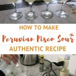 Homemade Peruvian Pisco Sour by AuthenticFoodQuest