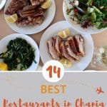 Best Restaurants in Chania with table food spread by AuthenticFoodQuest