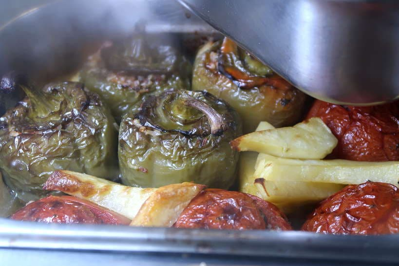 Stuffed Vegetables   Staple of Chania Restaurants by AuthenticFoodQuest