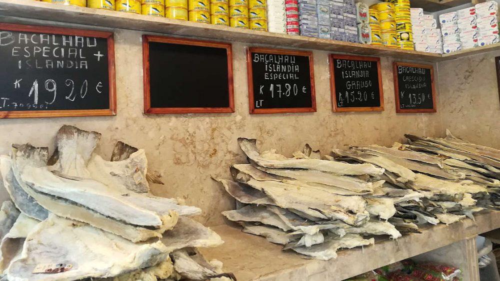 1200 Bacalhau store Lisbon food tours visit by Authentic Food Quest