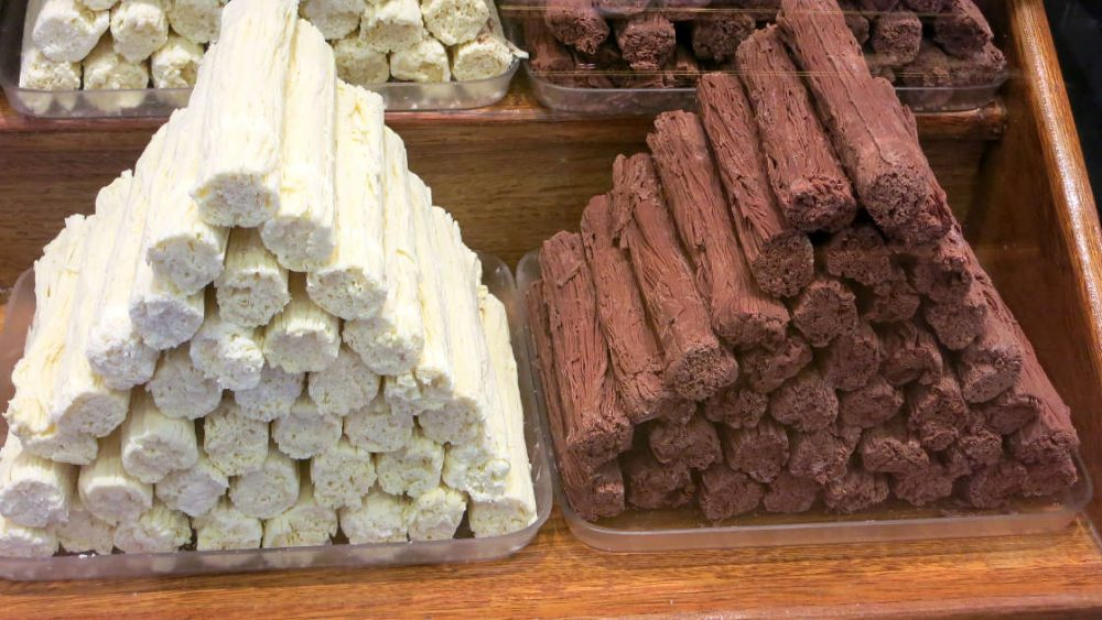Rama Chocolate or chocolate en rama Bariloche Argentina by AuthenticFoodQuest