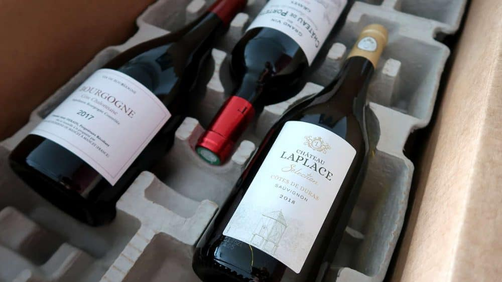 Wine Box at Sommailier French Wine Club by AuthenticFoodQuest
