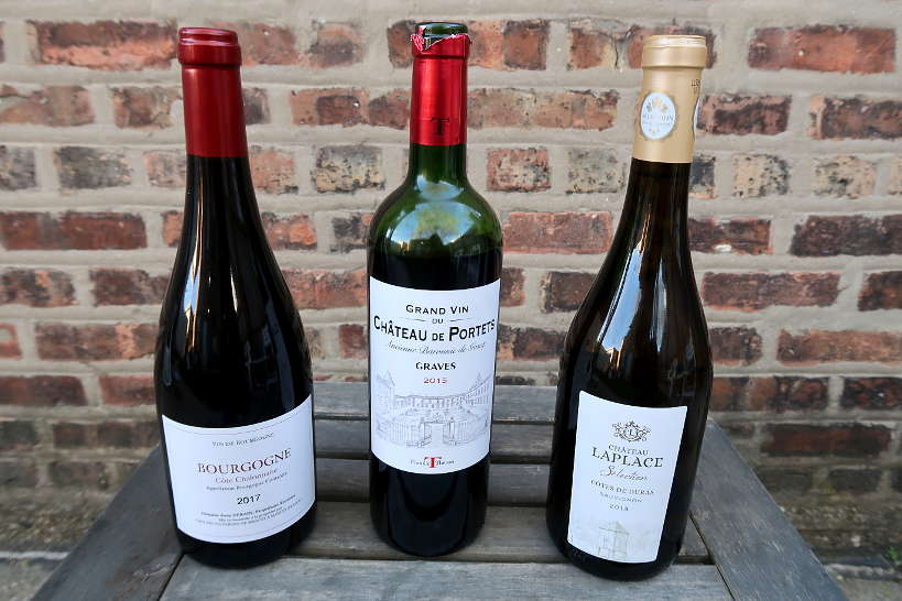Bottles French Wine from Sommailier by AuthenticFoodQuest